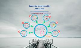 Áreas de intervención educativa
