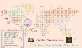 Comfort Women Issue