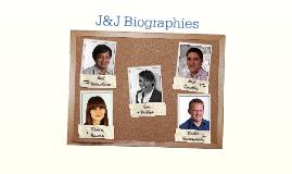 J&J Biographies