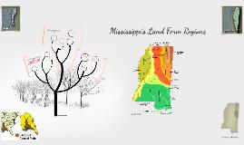 Copy of Mississippi's Landform Regions