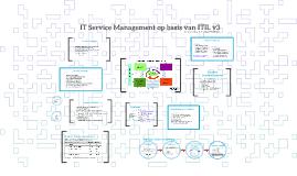 IT Service Management op basis van ITIL v3