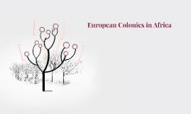 European Colonies in Africa