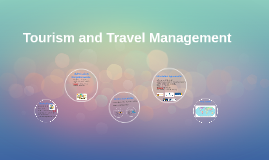 Tourism and Travel Management