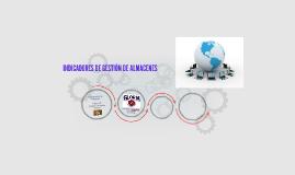 INDICADORES DE GESTIÓN DE ALMACENES