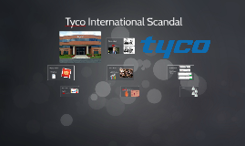 tyco international scandal Tyco international ltd is a diversified  itself of the taint of scandal with which it  had merged with the former tyco was renamed tyco international.