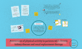 Assessment of physical activity in patients with chronic kid