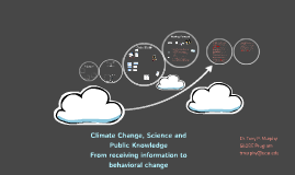 Paraguay: Climate Change, Science and Public Knowledge: From receiving information to behavioral change