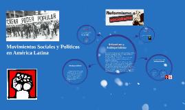 Movimientos Sociales y Políticos en América Latina
