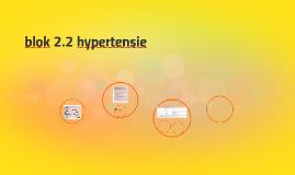 blok 2.2 hypertensie