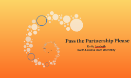 Pass the Partnership Please