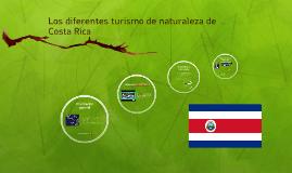 Los diferentes turismo de naturaleza de Costa Rica