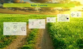 Ballet Timeline
