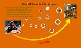 Linea del tiempo Gastronomía