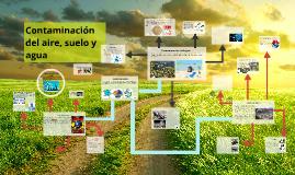 Copy of Contaminación del aire, agua y suelo. Geografia