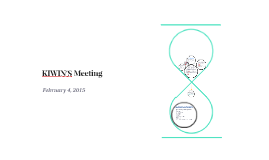 KIWIN'S Meeting