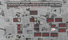"""NAS PÁGINAS DE """"O JULINHO"""": PERCEPÇÕES E NARRATIVAS DE JOVEN"""