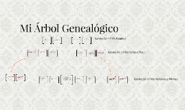 Mi Arbol Genealogical
