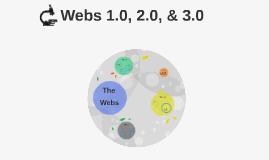 Webs 1.0, 2.0, & 3.0