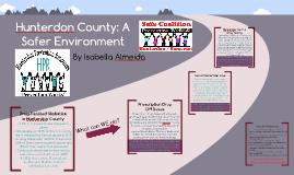 Copy of Hunterdon County: A Safer Environment