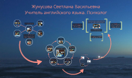 Жунусова Светлана Васильевна Учитель английского языка. Псих