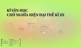 Copy of KÍ VĂN HỌC