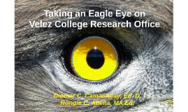 Taking an Eagle Eye on