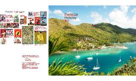 vakantie poster