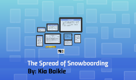 The Spread of Snowboarding