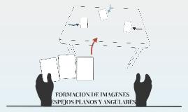 FORMACION DE IMAGENES (ESPEJOS PLANOS Y ANGULARES