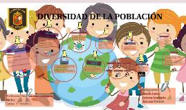 DIVERSIDAD DE LA POBLACIÓN