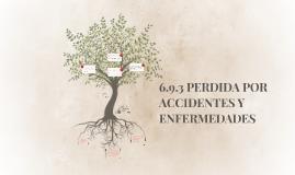 6.9.3 PERDIDA POR ACCIDENTES Y ENFERMEDADES