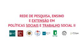 Red de Investigación, Docencia y Extensión en PS y TS II