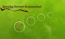 Sportdag Herman-Broerenschool