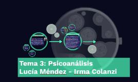 Tema 3: Psicoanálisis