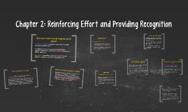 Copy of Chapter 2: Reinforcing Effort and Providing Recognition