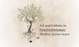 Art and Culture in Postrevolutionary Mexico, 1920s-1940s