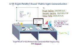 Li fi light fidelity by vinay patil on prezi ccuart Gallery