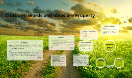 Words and Ideas are Property (Robinson)