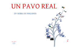 UN PAVO REAL EN LA TIERRA DE LOS PINGUINOS