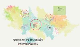programa de educación socioemocional