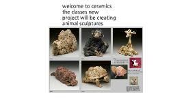 ceramics animal sculptures