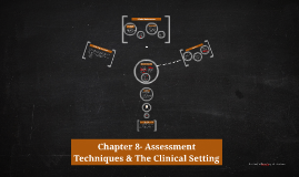 Chapter 8- Assessment Techniques & The Clinical Setting