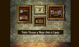 Copy of Pablo Picasso y Mujer Ante el Espejo