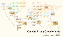 Copy of Ciencia, Arte y Conocimiento