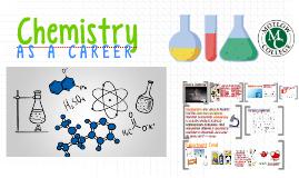 Chemistry as a Career