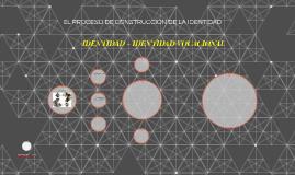EL PROCESO DE CONSTRUCCIÓN DE LA IDENTIDAD