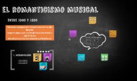 Copy of el romanticismo musical