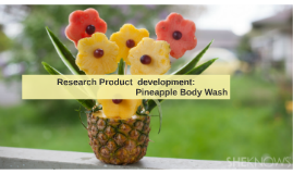 Research Product  development: