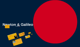 Newton and Galileo