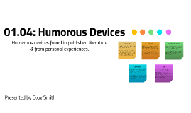 01.04: Humorous Devices